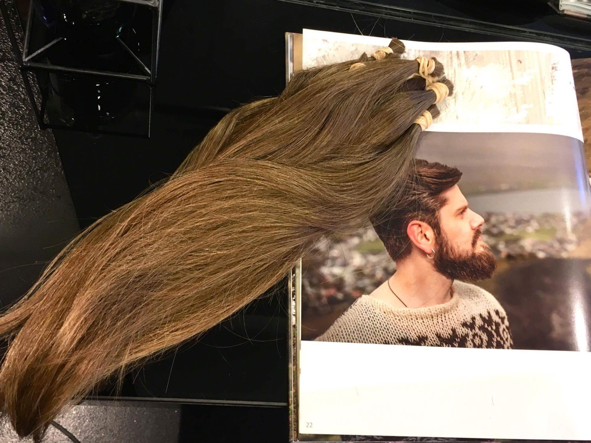 doner hår til kræftens bekæmpelse