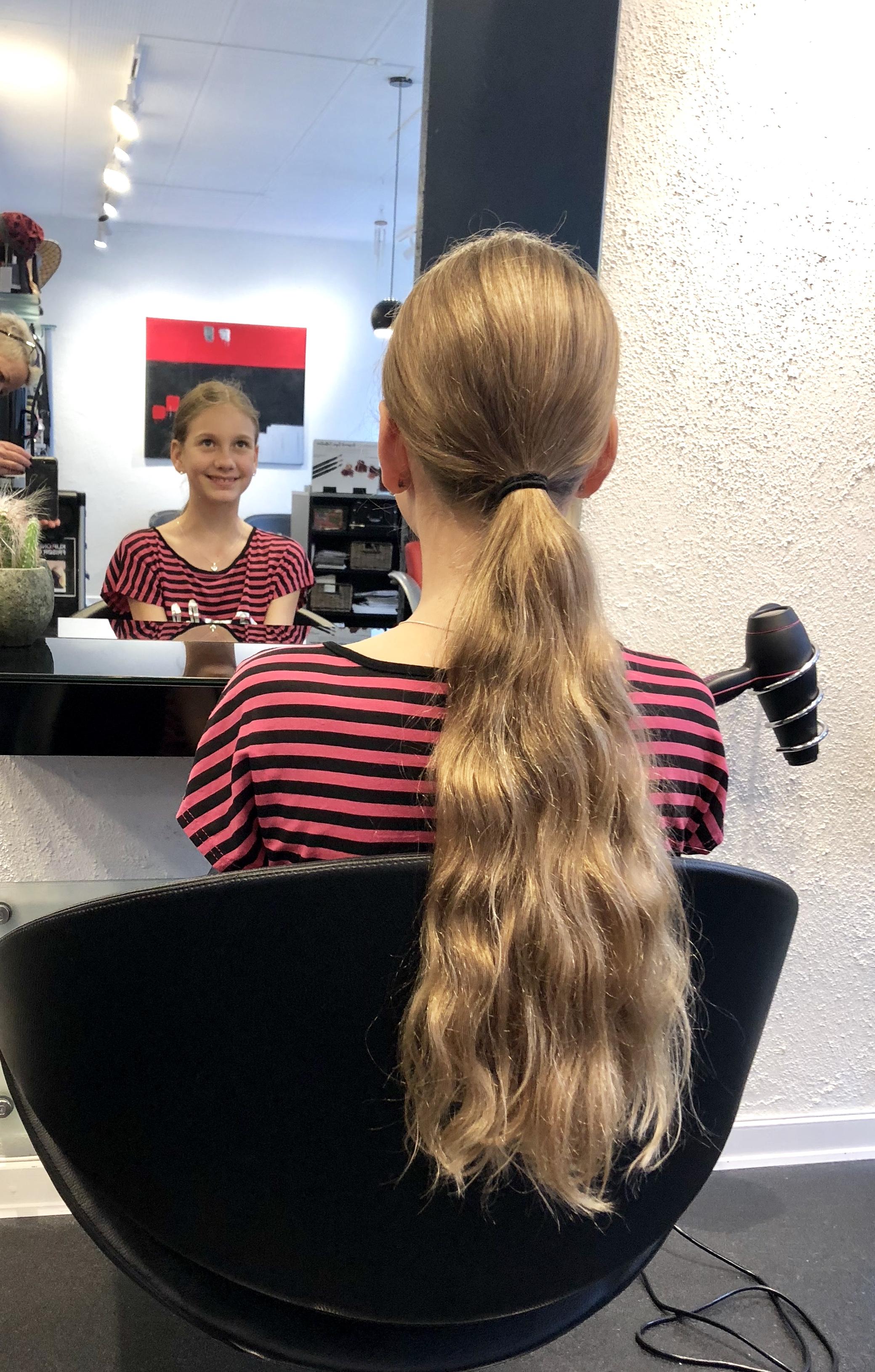 donering af hår