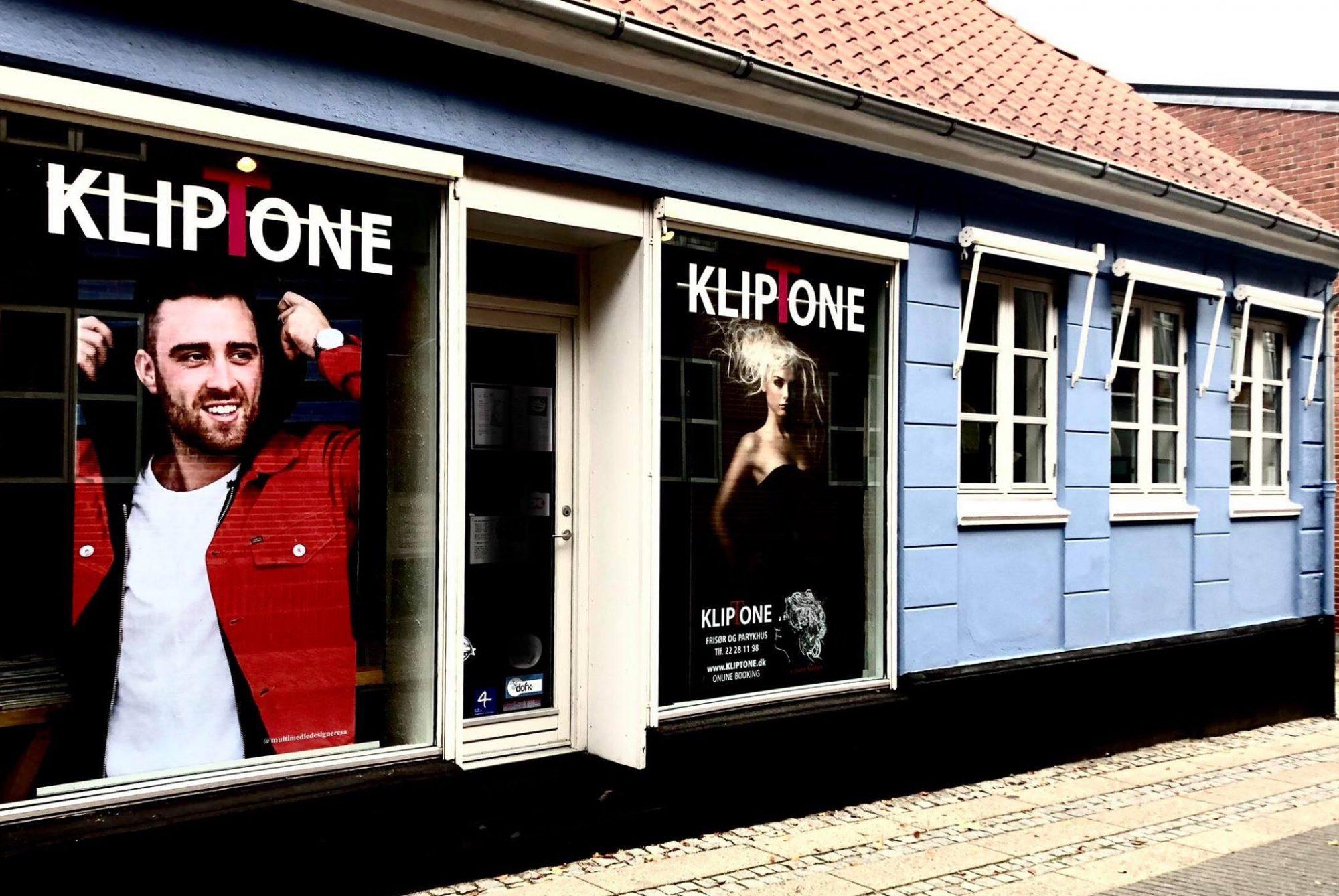 KLIPTONE  FRISØR OG PARYKHUS - VESTERGADE 6 7800 SKIVE - 22 28 11 98